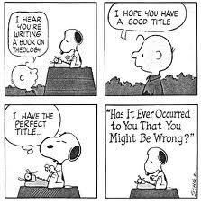 Snoopy Theology